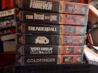 VHS James bond 007