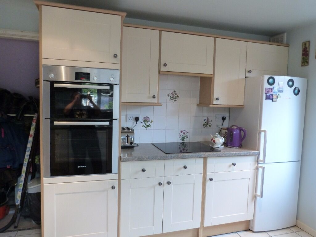 Howdens burford buy sale and trade ads find the right price for Cream kitchen base units