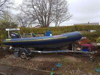 Rib boat ribtec 535 yamaha 85