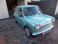 Classic Austin Mini 2000 miles since complete rebuilt.New body shell