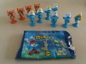 Stikeez Smurfs Lidl 2017