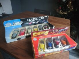 10 Classic Car Model Collection, Cars Opening Doors MINT condition