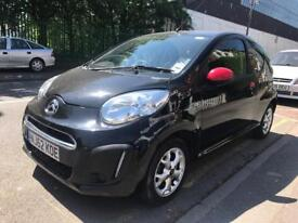 24000 MILES ONLY. 2012 CITROEN C1 CONNEXION 1.0i PETROL. £0 ROAD TAX. LOW INSURANCE IDEAL FIRST CAR.