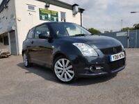 2011 Suzuki Swift 1.6 VVT SPORT 3dr**62K low milage**Long MOT
