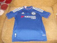 Boys Chelsea Adidas Football Shirt (worn but good condition)