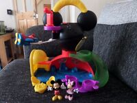 Mickey Mouse Clubhouse Fly n Slide Playset