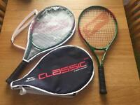 Two Brand New Slazenger Tennis Rackets