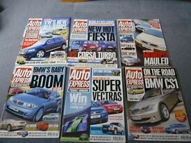Car Magazines- 380 issues of Auto Express- 1988 onwards