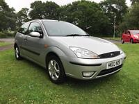 FORD FOCUS 1.6**NEW MOT**LOW MILEAGE**