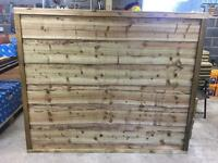 HEAVY DUTY PRESSURE TREATED WAYNEYLAP WOODEN FENCE PANELS 🌲