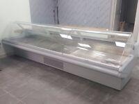 Ex Sainsbury 3.75m Butchery / Meat Display Counters / Refurbished