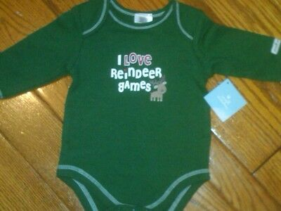 Baby Christmas Games (NWT INFANT BODYSUIT