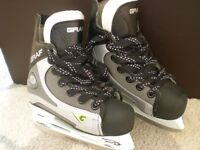 BRAND NEW ICE HOCKEY SKATES. Child size 11. Unisex. In original box. With blade guards. RRP £62.99