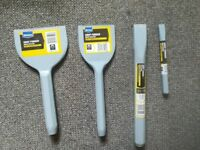 Wickes Brick Bolster and Cold chisel set.