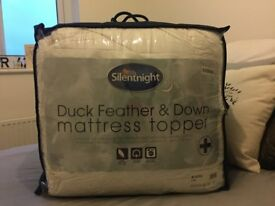 Silentnight Duck Feather & Down Mattress Topper