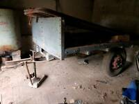 Vintage Single Axle Trailer