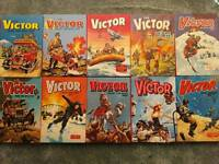 Victor book for boys annuals 1973-1982