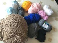 Mix wool yarns