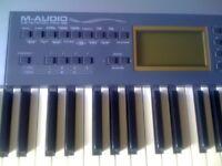 M - AUDIO keystation pro 88 Electric Midi keyboard controller for sale Bournemouth, Dorset