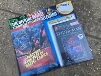 MARVEL COLLECTORS COMIC & Spider-Man Hardback book Issue 1