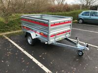 box trailer TEMA PRO + double side high quality !