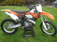 KTM 250 XC TWO STROKE, NEW ENGINE not 150 200 300 350 450