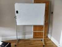 Adjustable Whiteboard with free magnetic duster