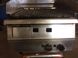 Griddle,Chargril Gas ,Falcon 60 cm Wide x 78 cm Front To Back ,Good Clean Working Condition BARGAIN