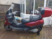 Piaggio x9 500cc scooter2002 running project no mot spares or repair