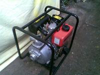 """diesel water pump new 2"""" start easy"""