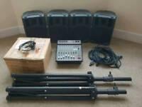 Citronic CSP 408 mixer PA system