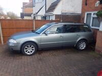 Vw Passat Tdi Highline Spares or Repairs