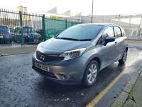 Nissan NOTE, Petrol, 2014, Grey, 26k mile, for SALE