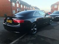 Immaculate Audi A5 TFSI 2008 1.8 Black - Chain driven - Full Audi Service History - MUST SEE!