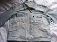 Girls Lee Cooper Denim Jacket Age 14/15 Years. (will fit a Size 8 Adult)