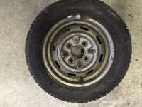 CLASSIC MINI SPARE TYRE WITH GOOD TYRE