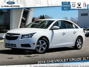 2014 Chevrolet Cruze 2LT**CUIR*CAMERA*BLUETOOTH*A/C**