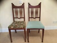 Matching pair of bedroom-dining room chairs no.2