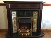 Fire Surround with Dimplex Electric Fire