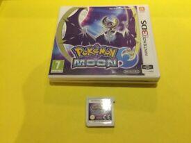 Nintendo 3DS Pokemon Moon game