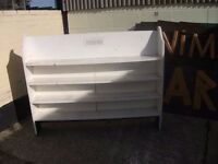 Country Style Kitchen Shelf Unit Good Shabby Chic Project Delivery Available