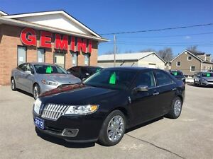2012 Lincoln MKZ AWD Leather Roof Navi