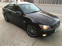 Lexus IS 200 2.0 SE AUTO 4dr SAT NAV, LEATHER, ALLOYS, CD, p/x considered 2004 (04 reg), Saloon