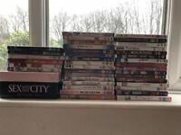 Ultimate girls dvd collection! 38 dvds plus Sex and the City box ser