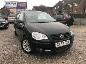 07 VOLKSWAGEN POLO S AUTOMATIC 1.4 PETROL IN BLACK *PX WELCOME* MOT TILL NOVEMBER 2018 £2295
