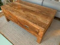 Solid Wooden Coffee Table