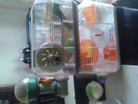 hamster cages and alot of other stuff