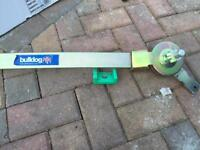 Bulldog stabiliser for caravan or trailer