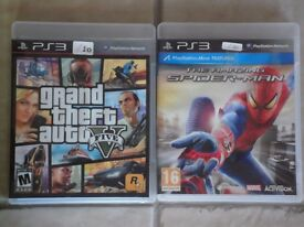 PS3 Games for Sale - £10 each
