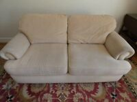 Sofa -beige colour - bought from NEXT about 10 years ago
